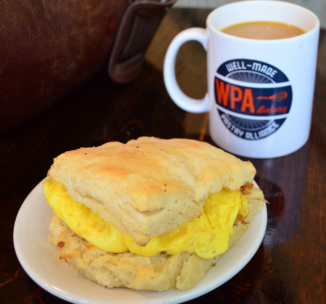Egg Biscuit at WPA