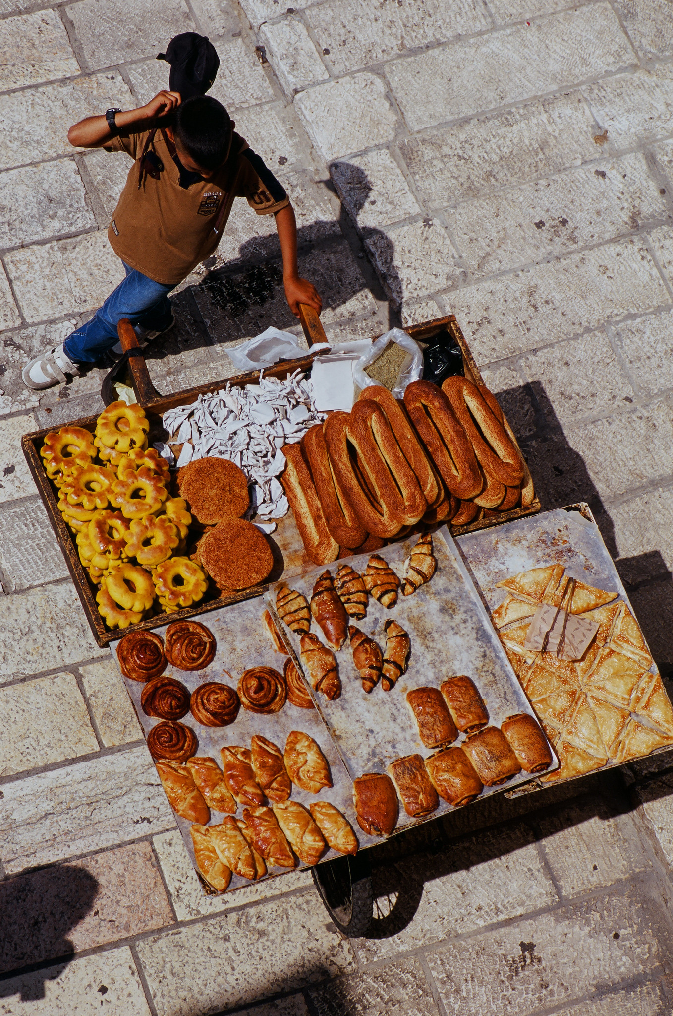 Old City Bread Cart
