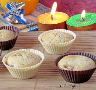 Moist Orange Date Muffins