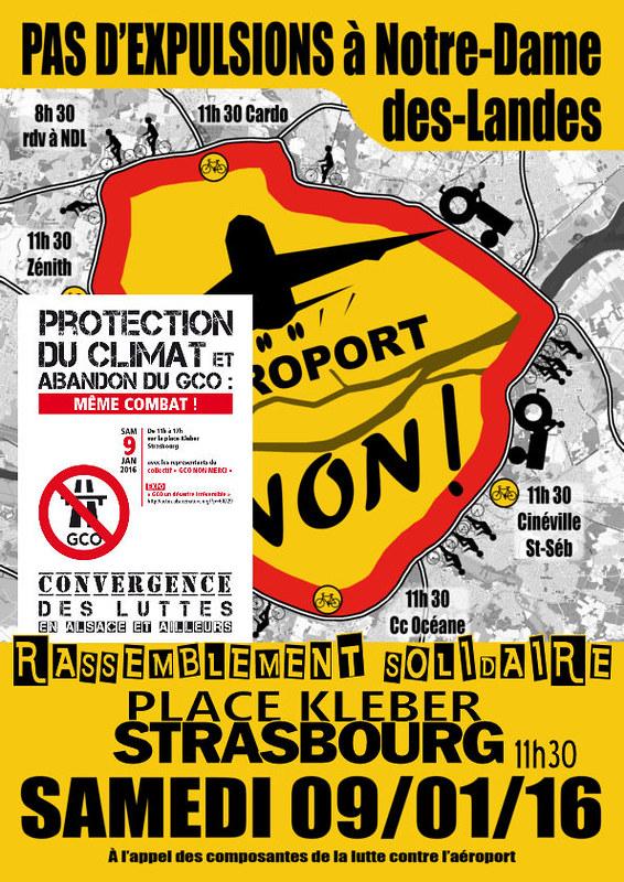 Solidarité avec les opposants NDDL - 9 jan 2016