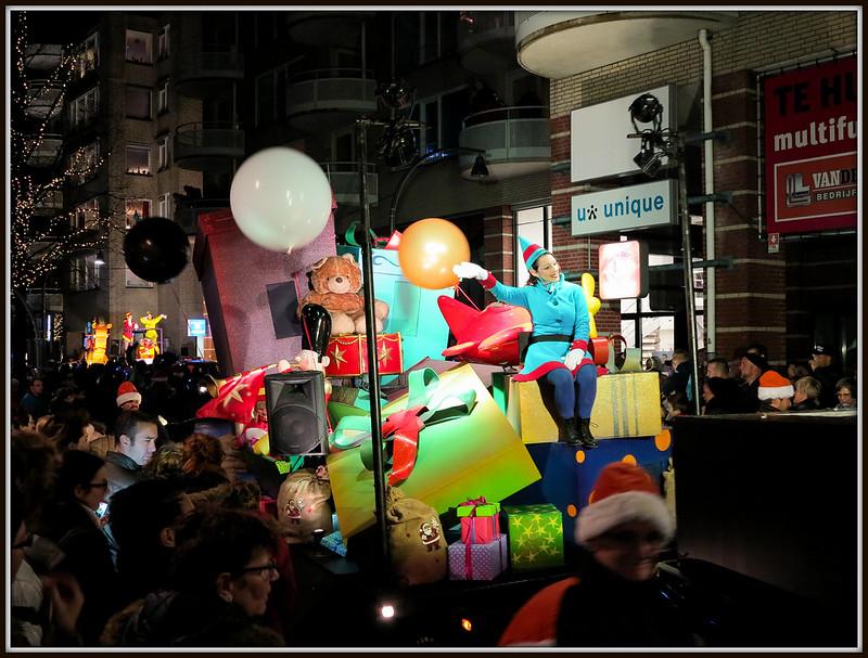 Kerstparade Lelystad (22-12-2015).