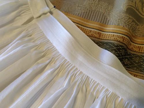 1870 Underskirt Back Waist
