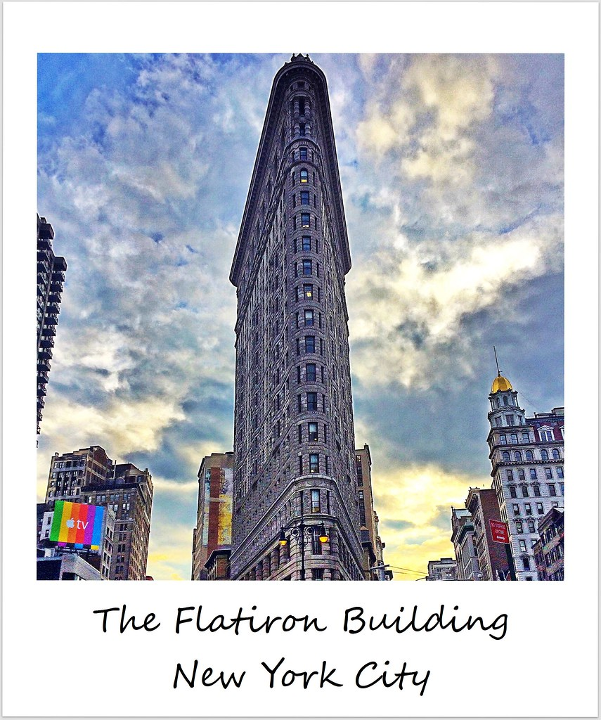 polaroid usa new york city flatiron buliding