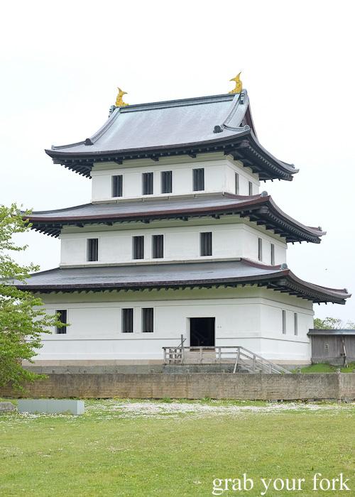 Matsumae Castle in Hokkaido, Japan