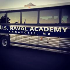 US Naval Academy bus #usnavy #navalacademy #annapolis #maryland #bus #boatshow #transportation
