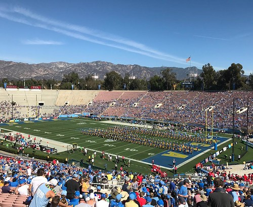 It's game time! UTAH at UCLA. #ucla #uclafootball