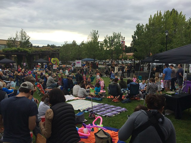 Rock the Plaza, June 17, 2016 - The Big Jangle