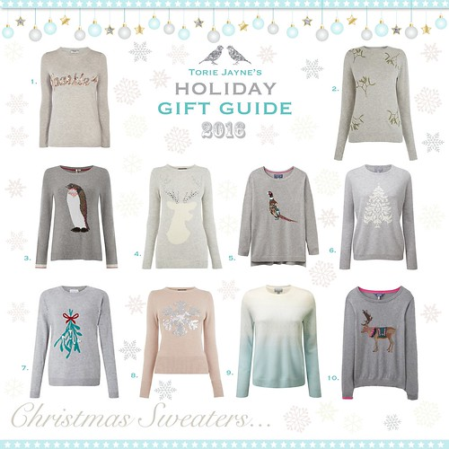 Christmas Sweaters...Gift Guide 2016