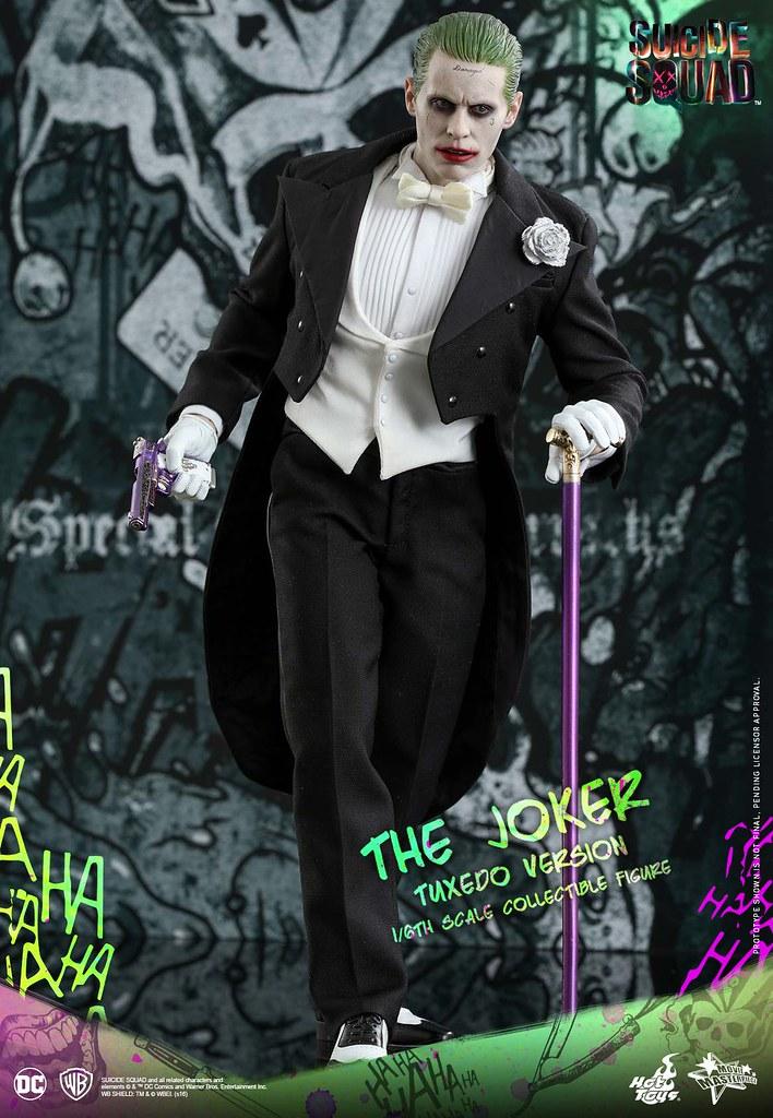 Hot Toys – MMS395 – 自殺突擊隊 – 1/6比例 小丑(燕尾服版) Suicide Squad The Joker (Tuxedo Version)