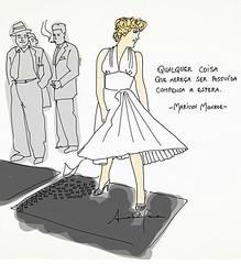 Marilyn ! #blogauroradecinemafrases  #marilynmonroe #marilyn#cute #woman #mujer #20likes #cool:sunglasses: @anaclaratissot #instagood