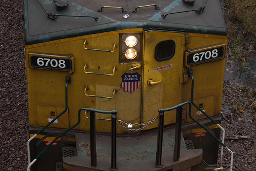 UP 6708 Nose