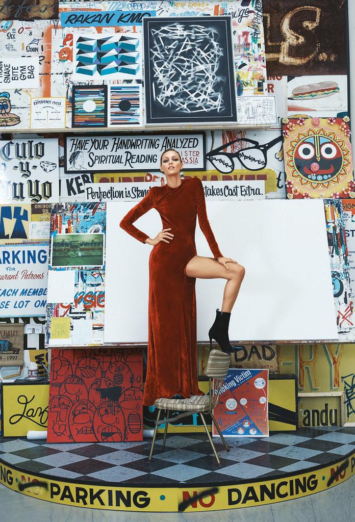 Аня Рубик — Фотосессия для «Bergdorf Goodman» 2016 – 7