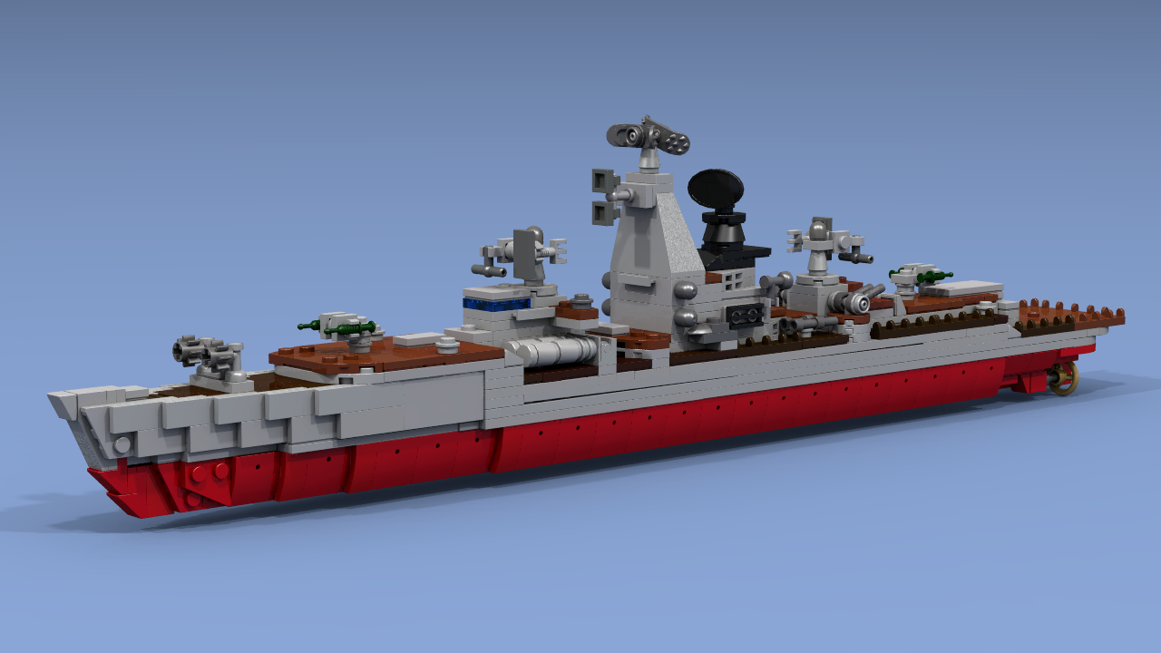 Is An Intermediate Variant From The Previous Generation Of Missile Ships  (
