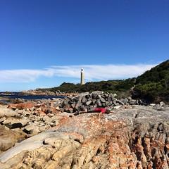 Eddystone Pt Lighthouse. Flat M.