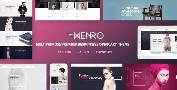 Wenro v1.0 - Multipurpose Responsive Opencart Theme