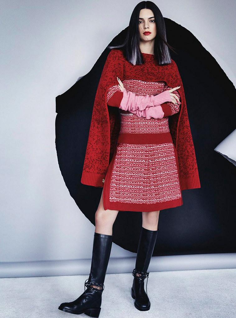 Кендалл Дженнер — Фотосессия для «Vogue» AU 2016 – 4