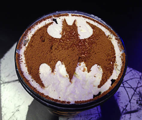 Batman Chocolate Toffee