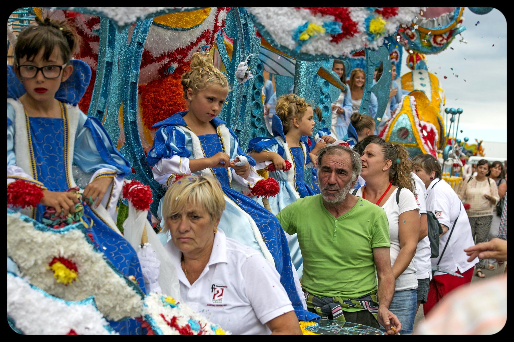 Gala Floral, Fiesta de la Virgen Grande