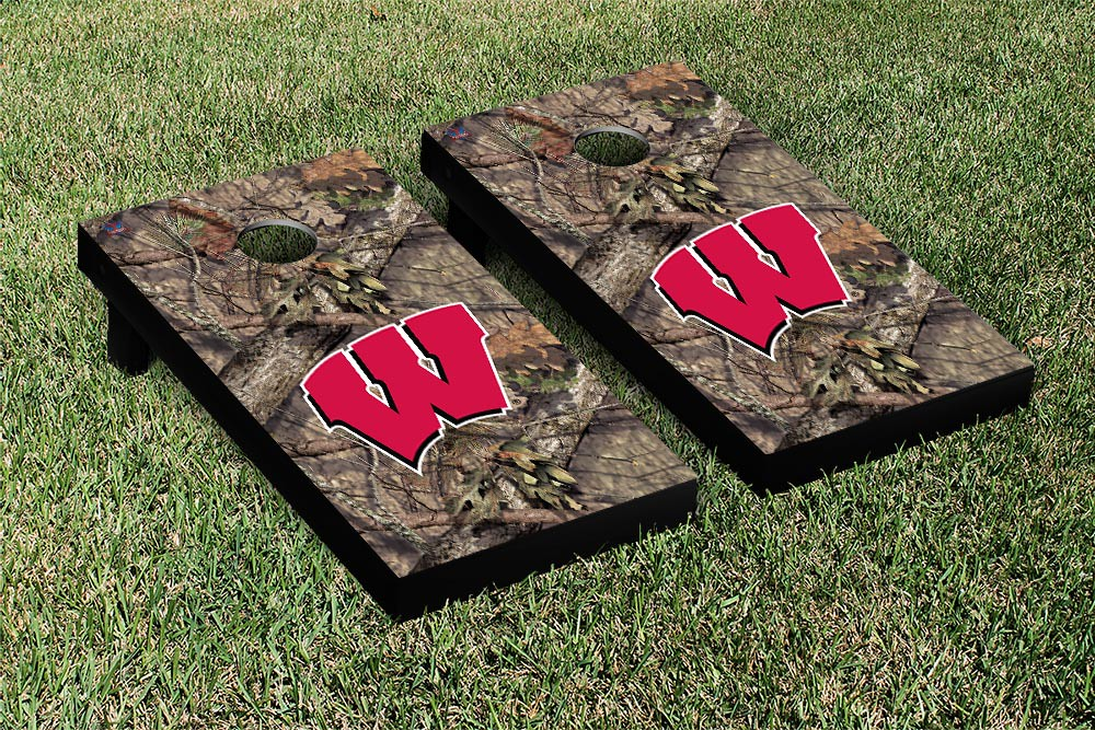 Wisconsin Badgers Mossy Oak Version