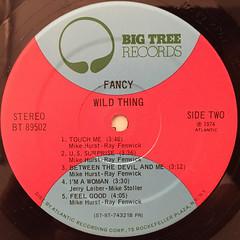FANCY:WILD THING(LABEL SIDE-B)