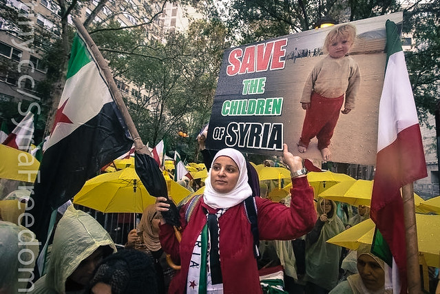 Save the children of Syria