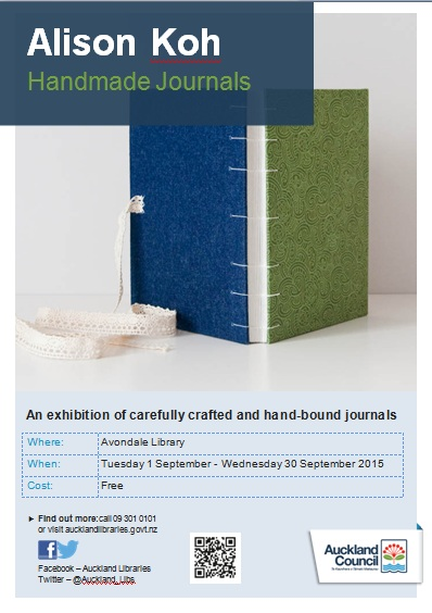 Alison Avondale library exhibition