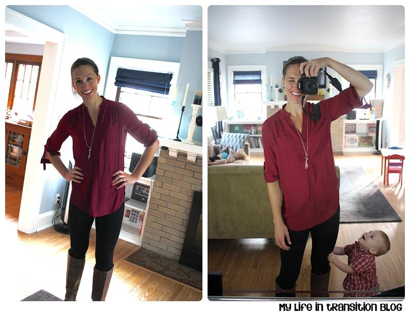 41Hawthorn Colibri Solid Tab Sleeve Blouse: $48