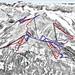 Mapa Mayrhofen - Penken