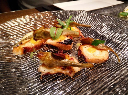 Grilled Octopus and Artichoke