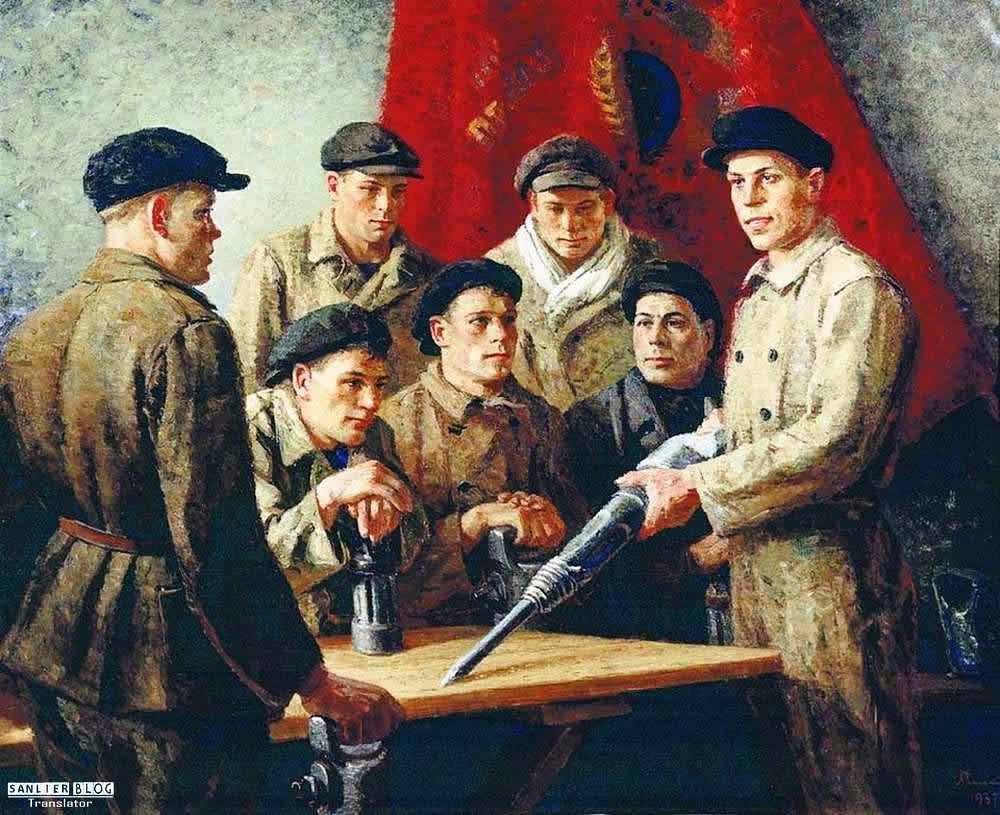 苏联20、30年代各类宣传画28