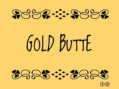 Buzzword Bingo: Gold Butte