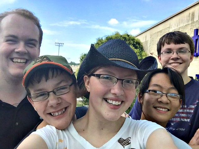 Five Kids Selfie