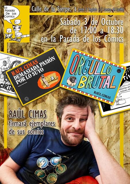 Raúl Cimas en La Parada de Los Cómics Valladolid