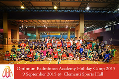 OBA September Holiday Exposure Camp 2015