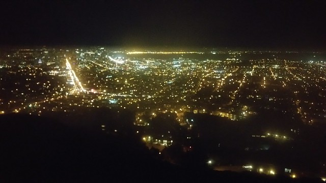 SF night view