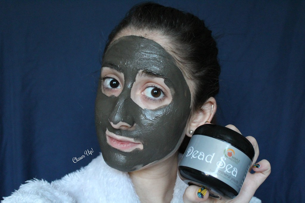 Maple Holistics Dead Sea mud mask review