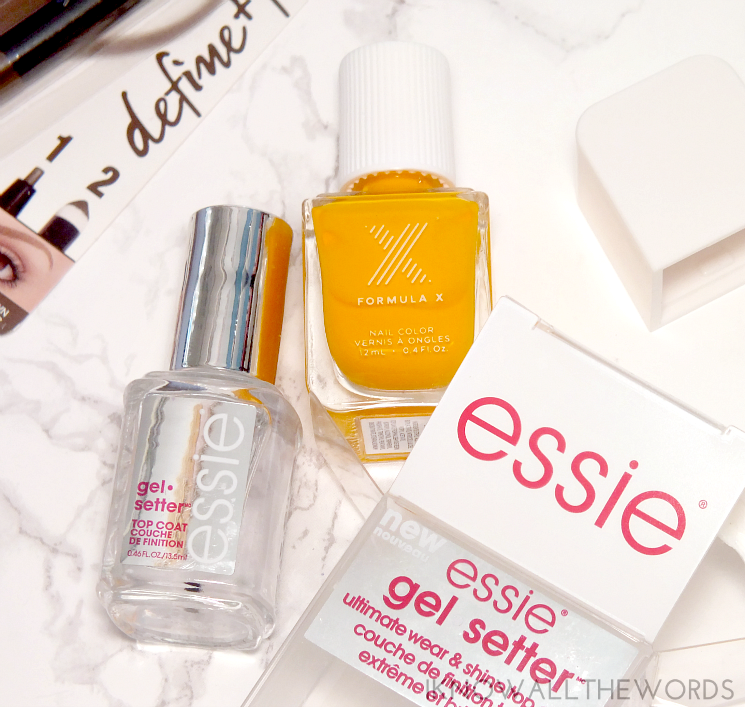 this that & other stuff essie gel setter and formula x dynamite (1)