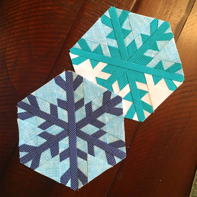 snowflake quilt blocks