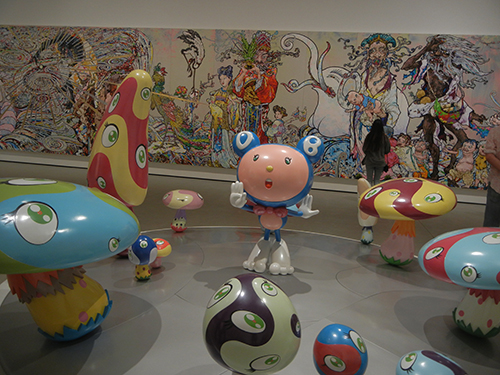 DSCN0494 _ DOB in the Strange Forest (Blue DOB), 1999, Takashi Murakami, Broad Museum, LA