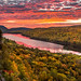 Spectacular Autumn Sunrise at Lake of the Clouds by Cole Chase Photography