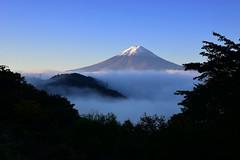 天下茶屋@御坂峠からの富士山 - Mt.Fuji view from Misaka pass