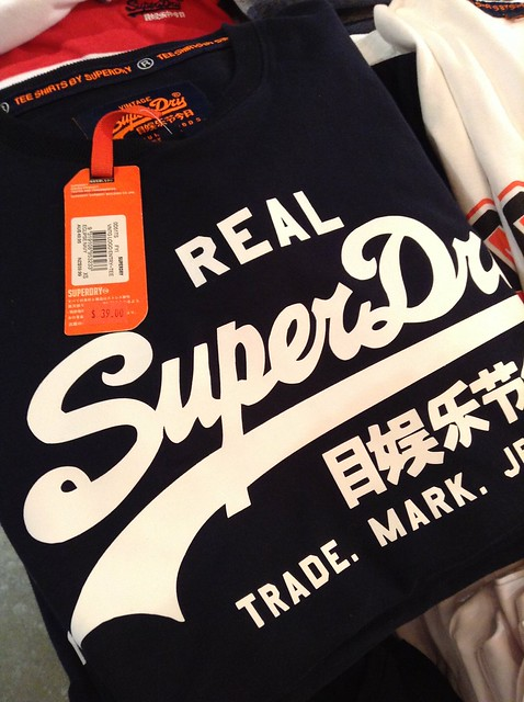 SuperDry T-shirt A$39