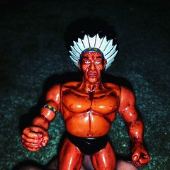 Crazy looking Indian wrestler from #Mannix #knockoff #toyhunting #toyhustle #toyfinds #TomKhayos #ToyGameScroogeMcDuck #toytrades #toysagram #RagingNerdgasm #actionfigures #ToyGameTedDibase #fleamarketfinds