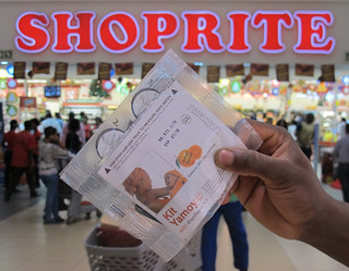 Shoprite and Kit Yamoyo