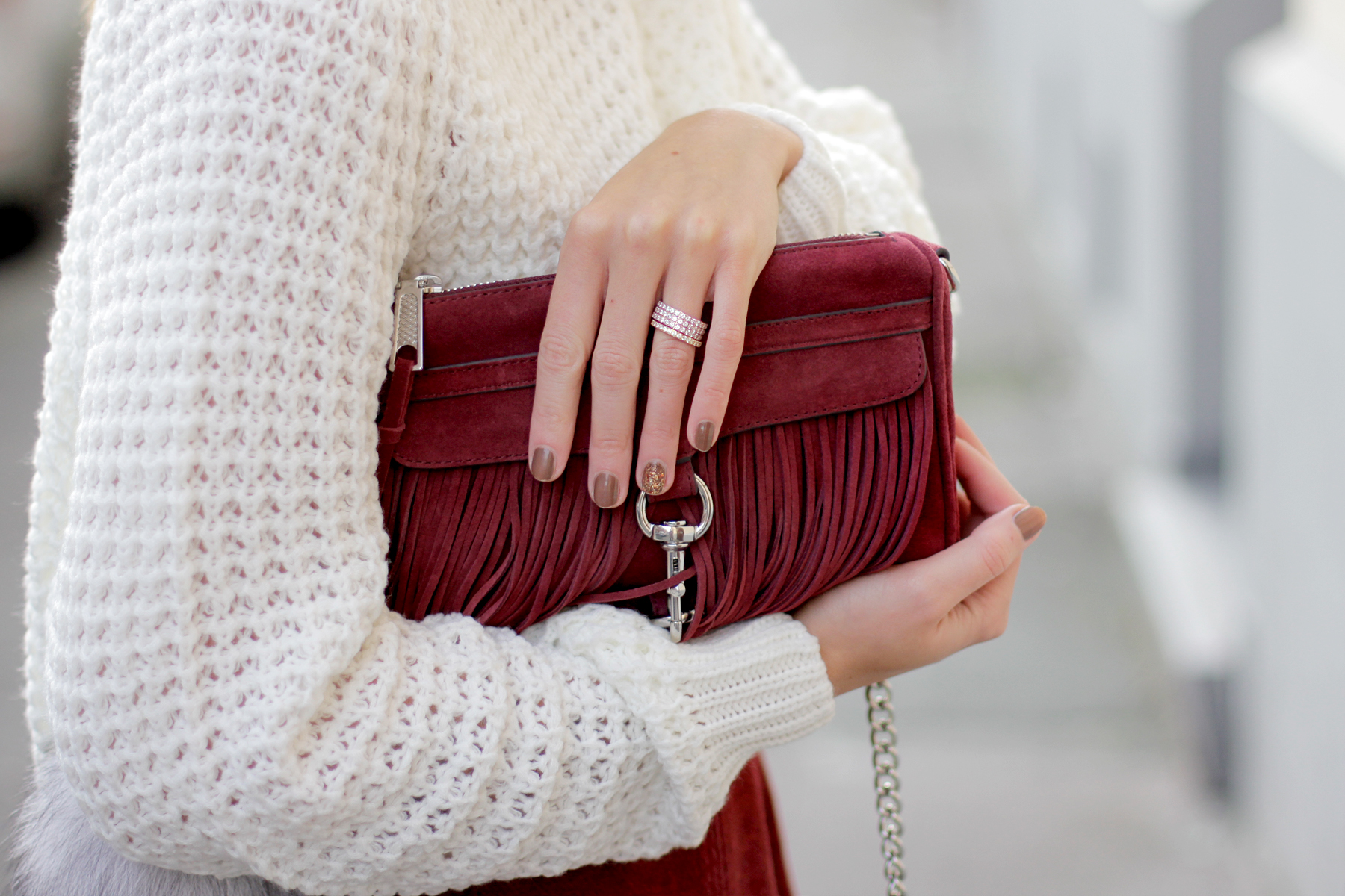 edited the label red burgundy a line skirt seventies soft white knit rebecca minkoff wine bag cross body cats & dogs fashionblogger ricarda schernus blog berlin hannover düsseldorf 4