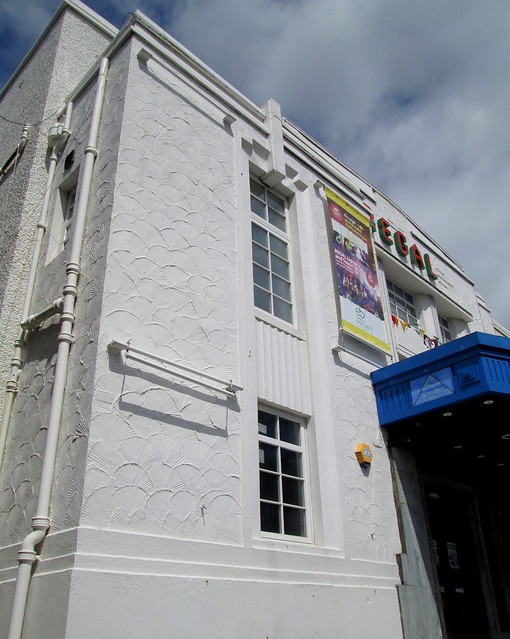 Regal Cinema, Bathgate, Detail at Front