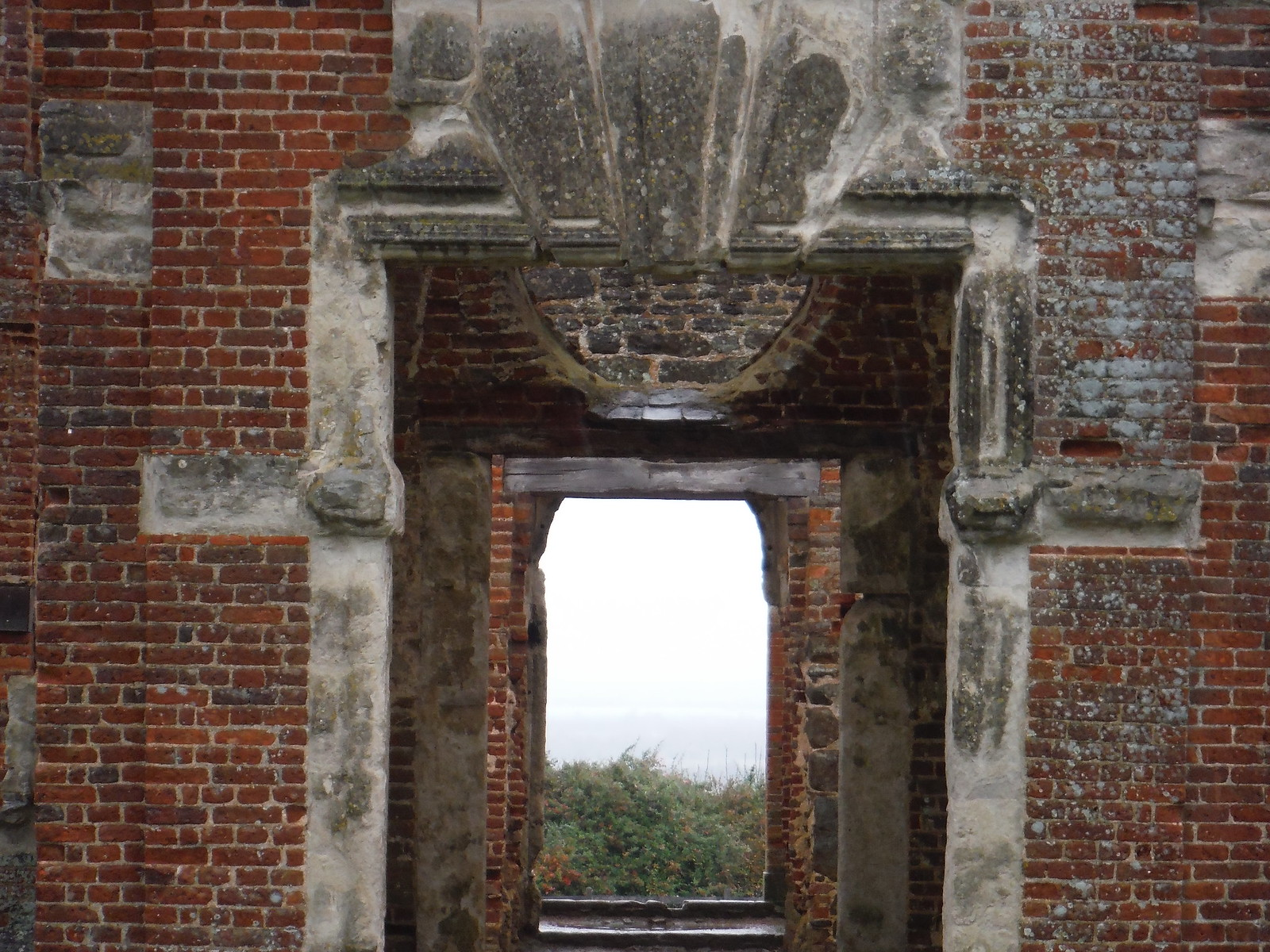 Houghton House, view through the front door SWC Walk 232 Lidlington to Flitwick