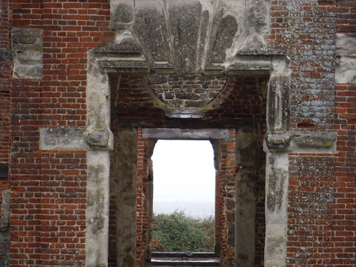 Houghton House, view through the front door