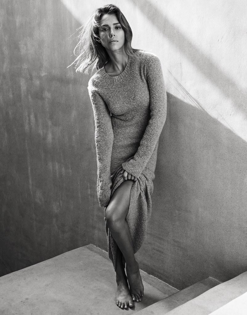 Джессика Альба — Фотосессия для «The Edit» 2015 – 2