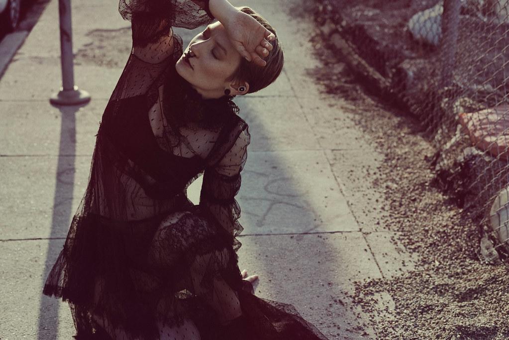 Миа Васиковска — Фотосессия для «Flaunt» 2015 – 2